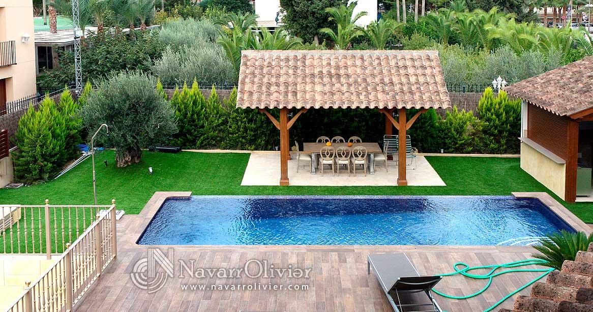 Navarrolivier for Kiosco de madera para jardin