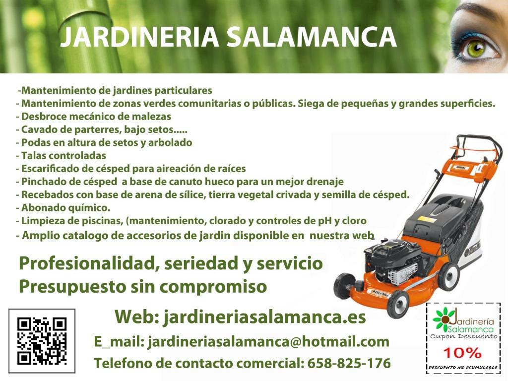 Jardineria salamanca - Presupuesto jardin ...