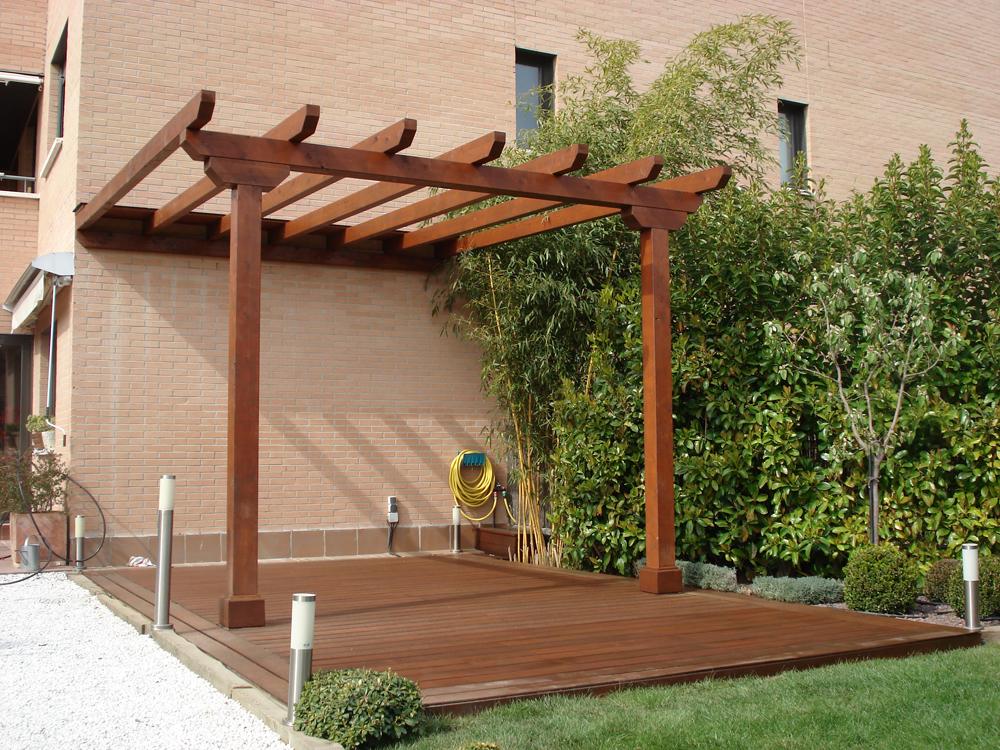24 luxury pergolas de madera reciclada - Pergolas de madera fotos ...