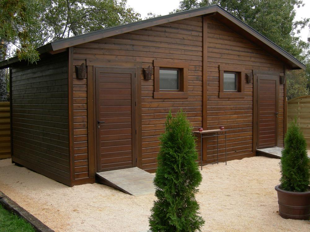 Pergomadera - Casa de madera jardin ...