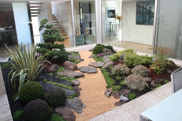 Jardines Japoneses En Casas Related Keywords & Suggestions  Jardines