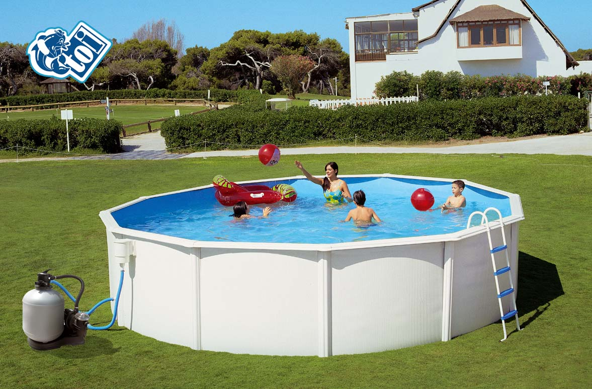 Piscinas desmontables for Tole piscine hors sol