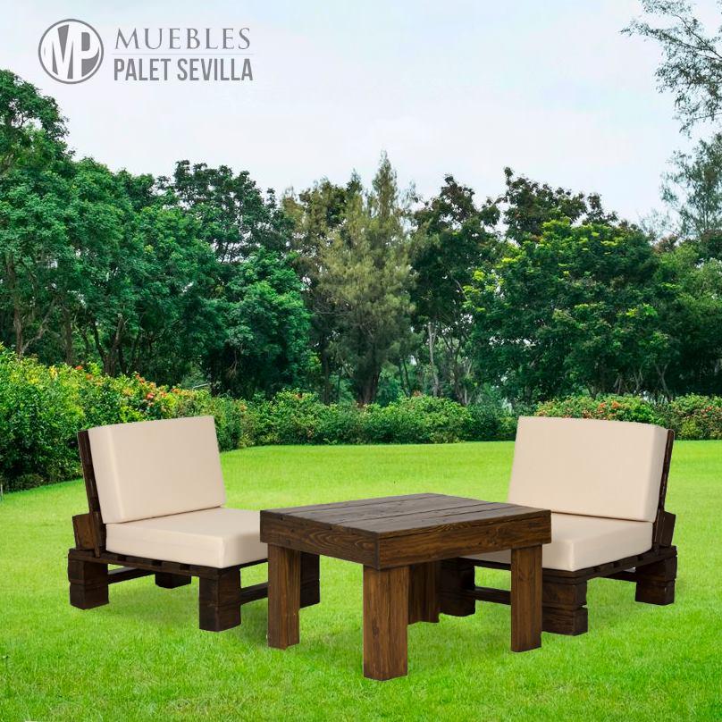 Muebles palets sevilla for Mobiliario de jardin en sevilla