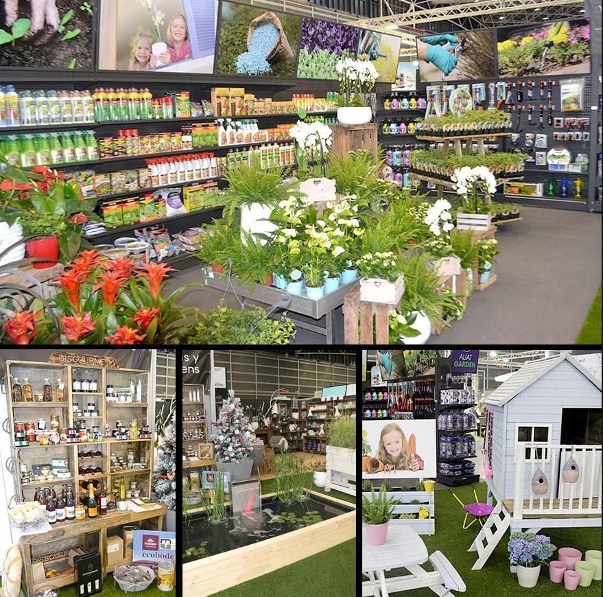 Aliat garden triunfa en iberflora 2015 y seduce a los for Articulos para jardineria