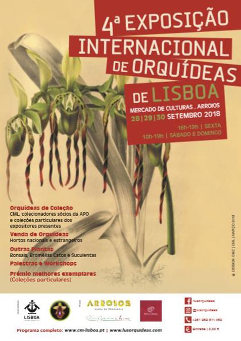 Resultado de imagen de exposicion orquideas lisboa