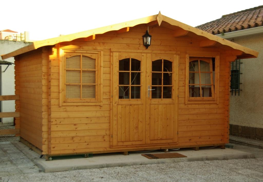 Caseta de jardin hoby nervion grupo tene casetas de jardin for Casas de jardin de madera baratas