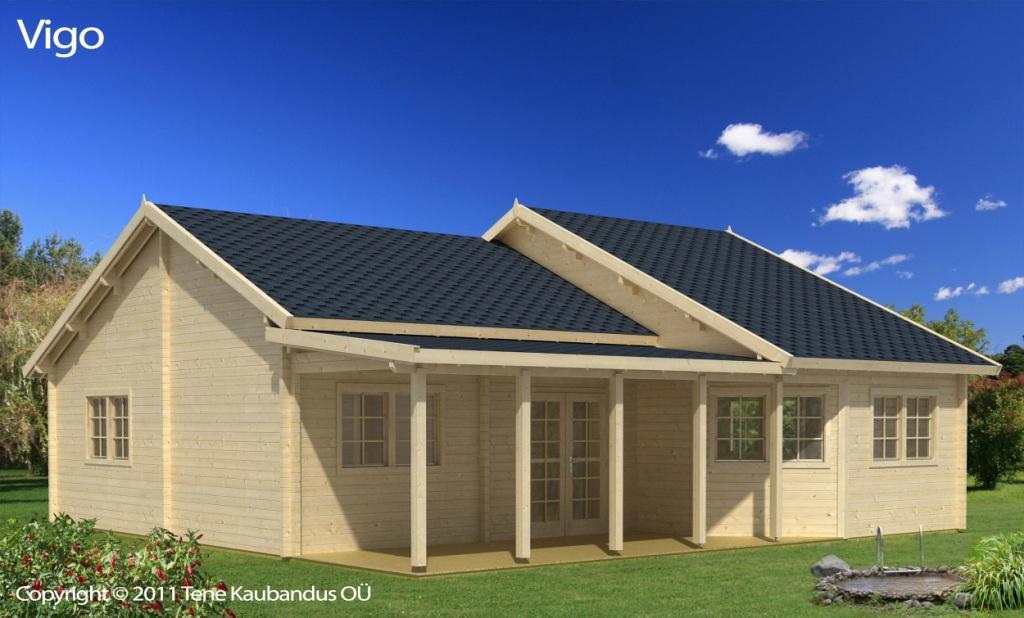 casa de madera modelo vigo 96m2 grupo tene casetas de. Black Bedroom Furniture Sets. Home Design Ideas