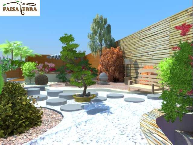 diseño 3d de zonas verdes > paisaterra