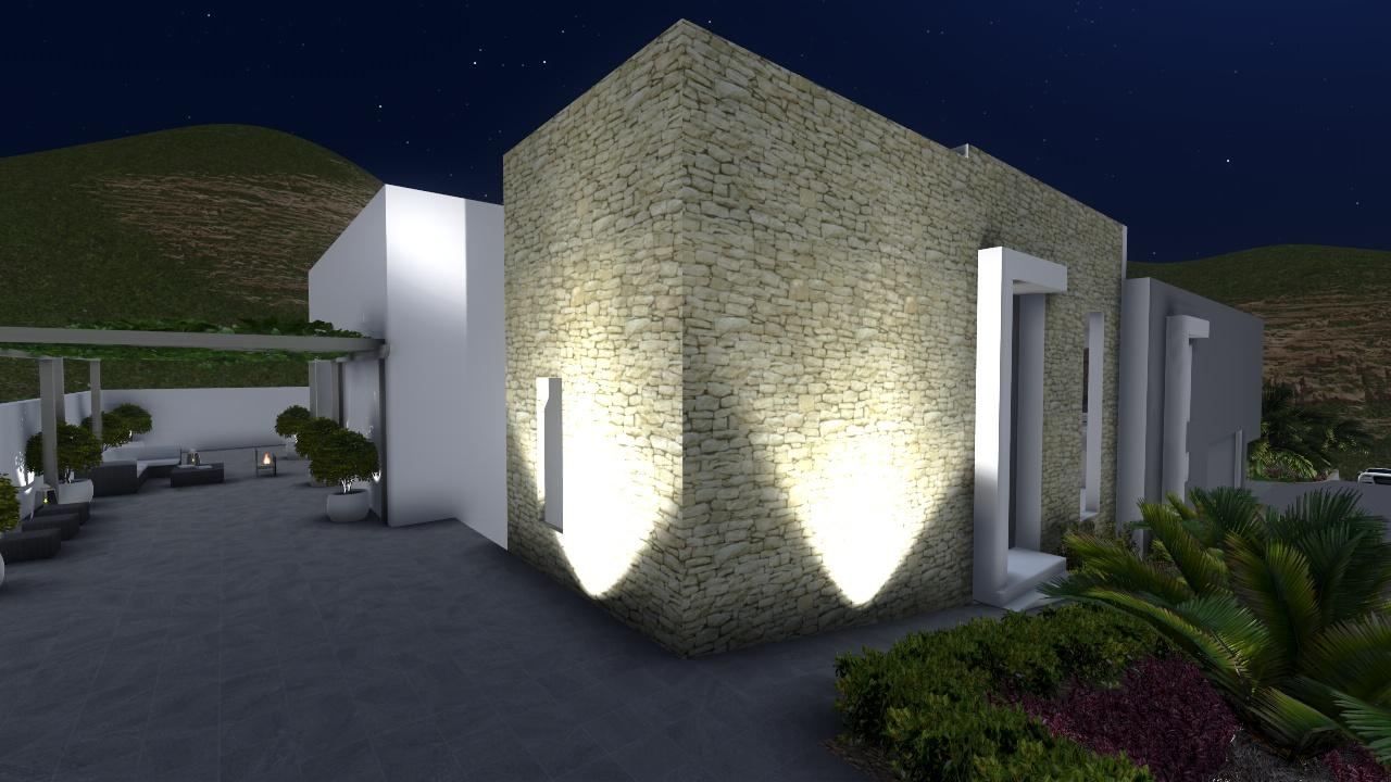 Proyectos de iluminacin de exteriores catarinagdesigns - Iluminacion de exterior ...