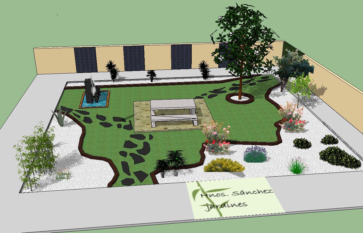 Diseo decoracin construccin y mantenimiento de jardines - Decoracion de terrazas de aticos ...