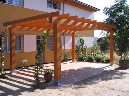Porches y p rgolas de madera hobycasa - Pergolas y porches de madera ...