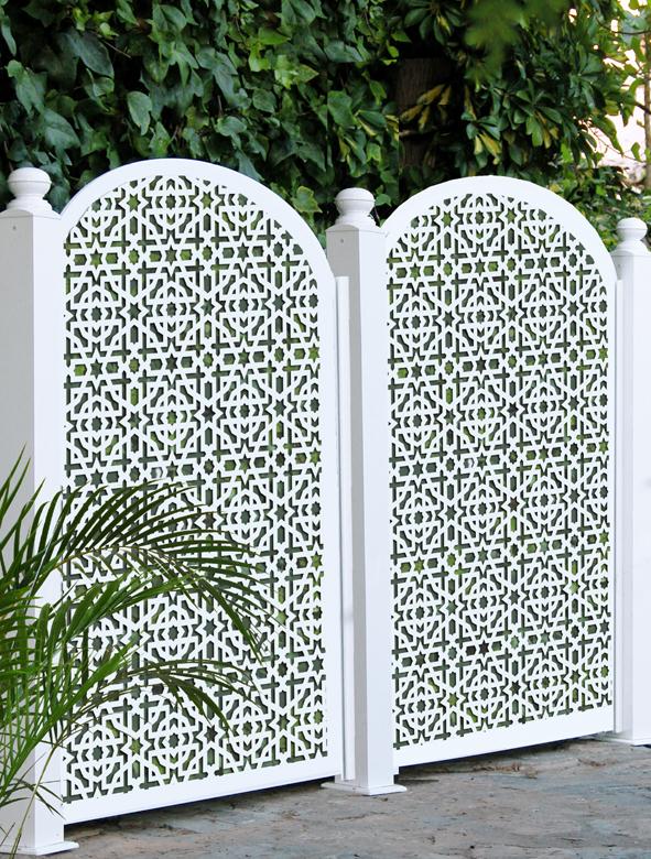 Celosa separador de ambiente el rincon de arte for Celosias para jardin