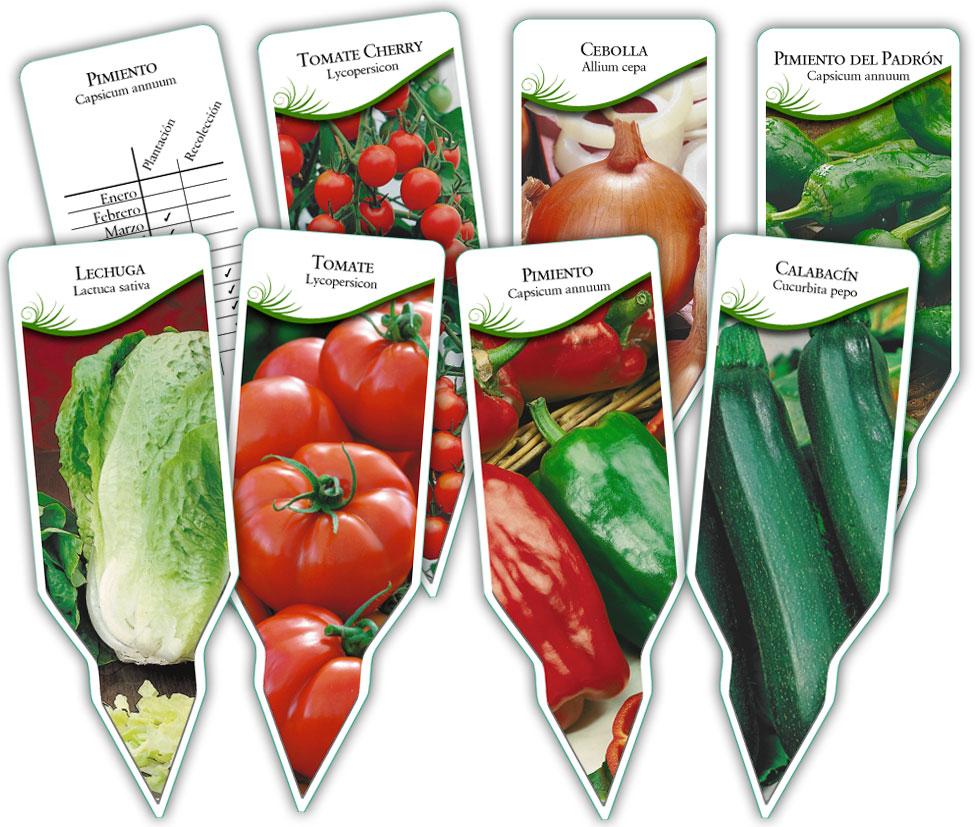 Etiquetas para plantas floramedia espaa autos post - Etiquetas para plantas ...